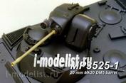 3525-1 Model Point 1/35 20 mm Mk20 DM5 barrel with flash Hider