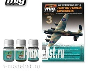 AMIG7416 Ammo Mig EARLY RAF FIGHTERS AND BOMBERS (Fighters and bombers the RAF)