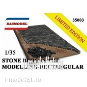 35003 DasModel 1/35 paving Stone model rectangular