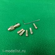 5161 СВмодель Цанговый патрон-насадка 0,5-3 мм.
