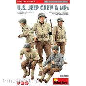 35308 MiniArt 1/35 American jeep crew