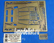 35 161 Aber 1/35 Armoured personnel carrier, Upper armour for Sd.Kfz. 250