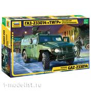 3668 Zvezda 1/35 Russian armored car GAZ - Tiger