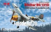 32030 ICM 1/32 Германский учебный самолет Bücker Bü 131D