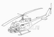 7078 CMK 1/72 Набор дополнеий  UH-1B - interior set for ITA