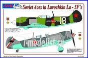 AML 72 050 AML 1/72 Самолет Soviet Aces in Lavochkin La-5F