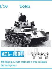 ATL-16-01 Friulmodel 1/16 Траки наборные железные TOLDI