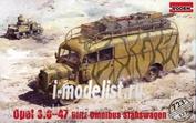 723 Roden 1/72 Opel 3.6-47 Blitz Omnibus Stabswagen