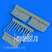 QB48 903 Quickboost 1/48 Дополнение к модели F-16A/B Fighting Falcon undercarriage covers