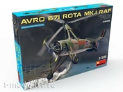 41008 MiniArt 1/35 Autogyro Avro 671 Rota Mk.1 RAF