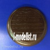 PL10 Plate Подставка для модели (покрытая) круглая