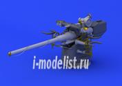 672053 Eduard 1/72 Дополнение к модели German Submarine 10,5cm gun