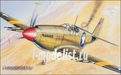 090 Italeri 1/72 Самолет P-51 Mustang