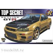 05984 aoshima 1/24 Nissan Skyline GT-R TopSecret BNR34 '02