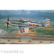 FB4010 Bronco 1/48 Scale Model Fighter Aircraft of the Chinese Air Force P-5 1D/K Mustang 1949 Parade