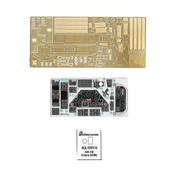 032215 Микродизайн 1/32 Цветные приборные доски для AH-1G Cobra (ICM)