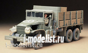 Tamiya 35218 1/35 Us 2,5-ton truck three-axle 6x6 (2 per Assembly) with figure of driver
