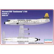 144139-5 Orient Express 1/144 Viscount 800 Continental Aircraft