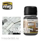 AMIG1010 Ammo Mig NEUTRAL WASH (grey wash))