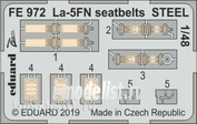 FE972 Eduard 1/48 Ла-5ФН стальные ремни