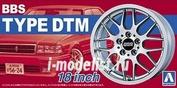05242 Aoshima 1/24 BBS Type DTM 18 inch The Tuned Parts No.Three
