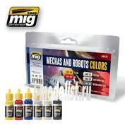 AMIG7127 Ammo Mig ROBOTS & MECHAS COLORS (цвета роботов и мех)