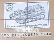3001KIT AVD Models 1/43 Гусеничный транспортер ГТ-СМ