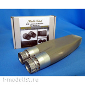 MDR4835 Metallic Details 1/48 Реактивные сопла для B-1B Lancer (Revell)