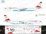 321-011 Ascensio 1/144 Декаль на самолёт Airbu A321 (Austrian Airlines)