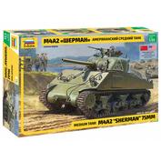 3702 Zvezda 1/35 American medium tank