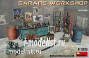 35596 MiniArt 1/35 Garage Workshop