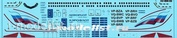 737800-03 PasDecals 1/144 Scales Decal for Aeroflot Boeing 777-800 RA