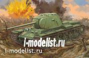09544 Я-Моделист Клей жидкий плюс подарок Trumpeter 1/35 Советский тяжелый танк КВ-3