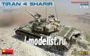 37013 MiniArt 1/35 Израильский танк Tiran 4 Sharir с интерьером