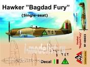 48603 AMG Models 1/48 Самолет Bagdad Fury RIAF