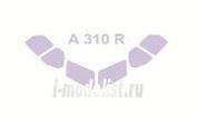 14406 KV Models 1/144 Набор окрасочных масок для остекления модели Airbs-310