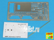 257 35 Aber photo etched parts for 1/35 Simca 5 Staff Car