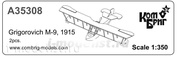 KBA35308 brigade Commander 1/350 Grigorovich M-9, 1915 x 2 pcs.