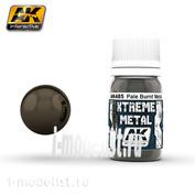 AK485 AK Interactive XTREME METAL PALE BURNT METAL (metallic pale burnt metal)