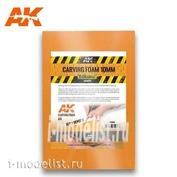 AK8094 AK Interactive Пена для резьбы 10 мм, A4 (305 x 228 мм)