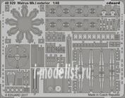 48929 Eduard 1/48 Фототравление Walrus Mk. I экстерьер