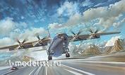 048 Roden 1/72 Советский военно-транспортный самолет АН-12ВК Civil