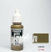 70314 Vallejo Краска акриловая `Panzer Aces` Брезент / Canvas