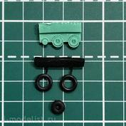 EQG72019 Экипаж 1/72 Резиновые колёса для МuГ-9