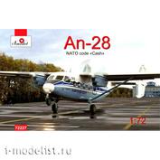 72227 Amodel 1/72 Самолет Ан-28 Аэрофлот