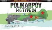 12314 Academy 1/48 Cамолет  Polikarpov I-16 Type 24