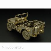 HLU35036 Hauler 1/35 Фототравление для Jeep Willys MB