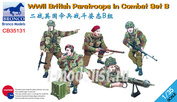 CB35131 Bronco 1/35 WWII British Paratroops In Combat Set B