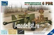 RV35018 Riich 1/35 Ordnance QF 6-Pdr. Mk.IV Late War Infantry Anti-tank Gun (w/Metal gun barrel)