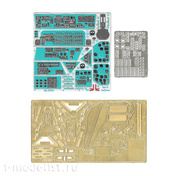 035401 Microdesign 1/35 Photo etching kit for Mi-8 cabin